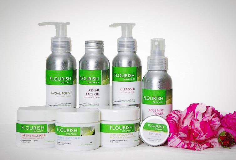Organic skincare from Flourish Organics